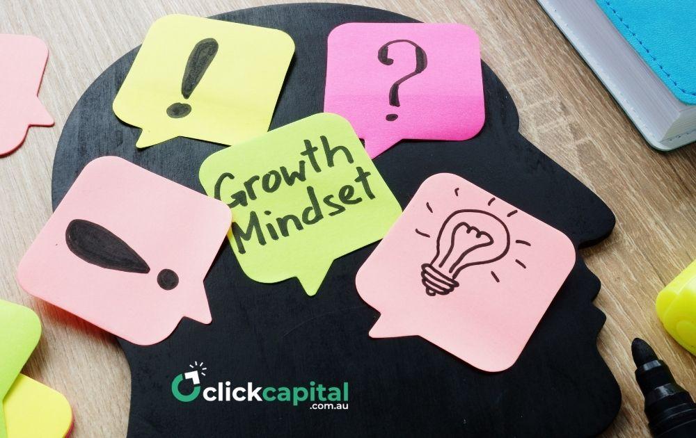business growth mindset concept